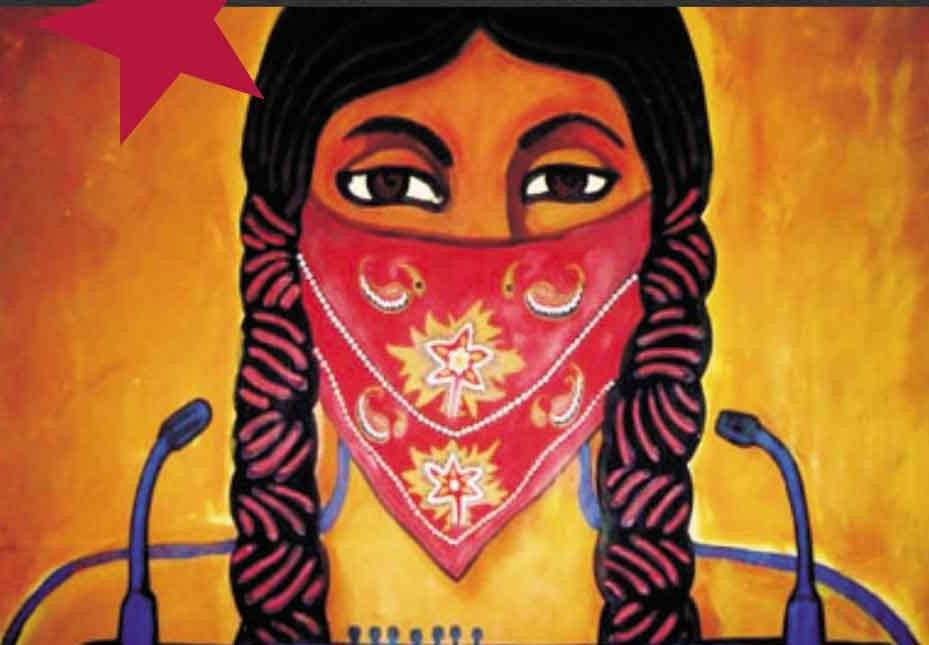Zapatista-woman